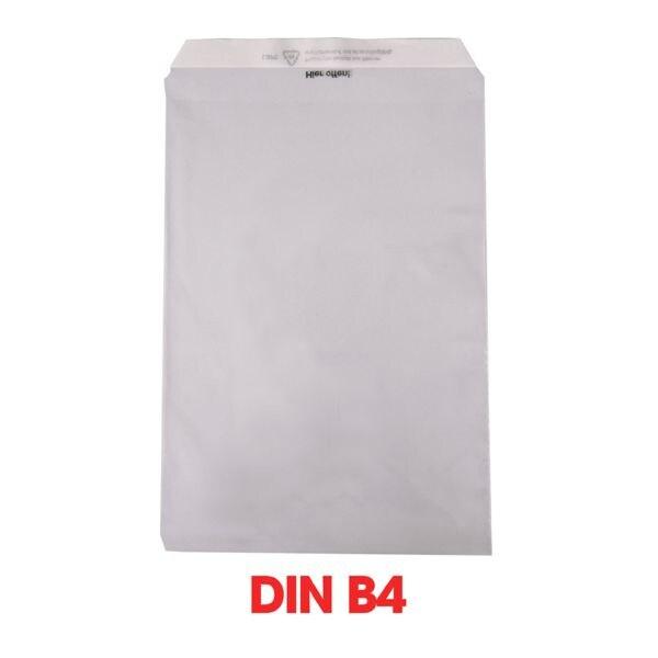 Mailmedia 1000 Folienversandtaschen, B4 50 g/m² ohne Fenster