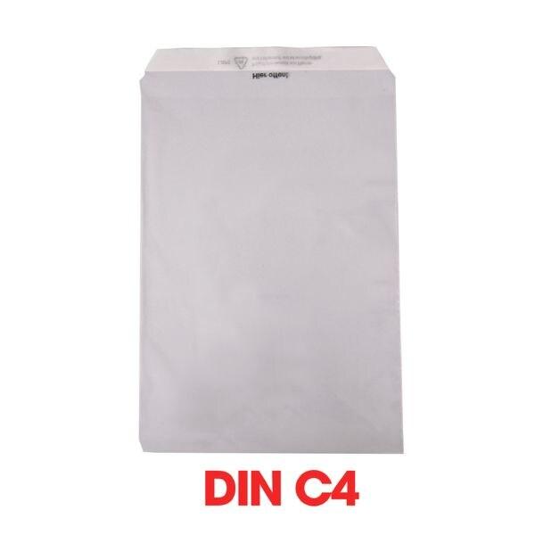 Mailmedia 100 Folienversandtaschen, C4 50 g/m² ohne Fenster
