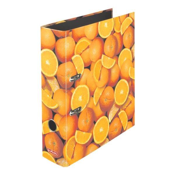 Motivordner A4 Herlitz Orange breit