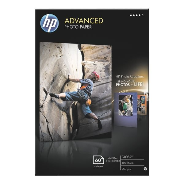 HP Fotopapier »HP Advanced 10x15 cm« glossy