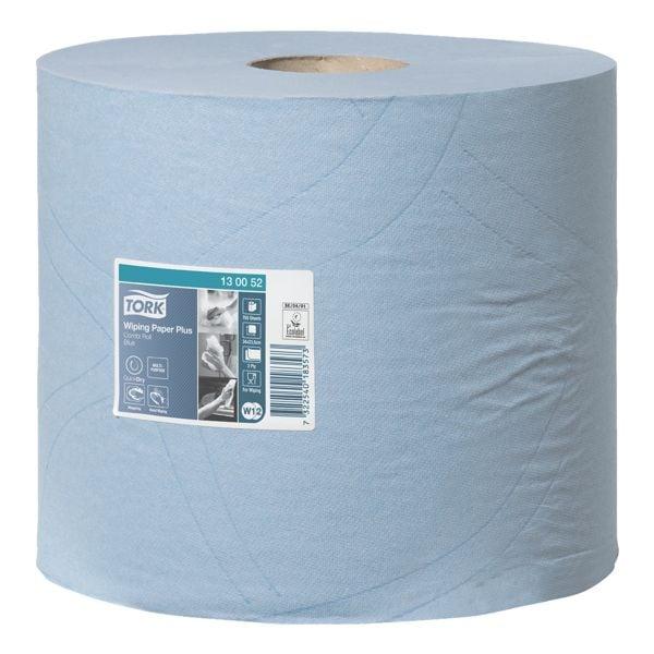 Tork Industrie-Wischtücher blau 2-lagig 24x34 cm (2x750 Blatt)