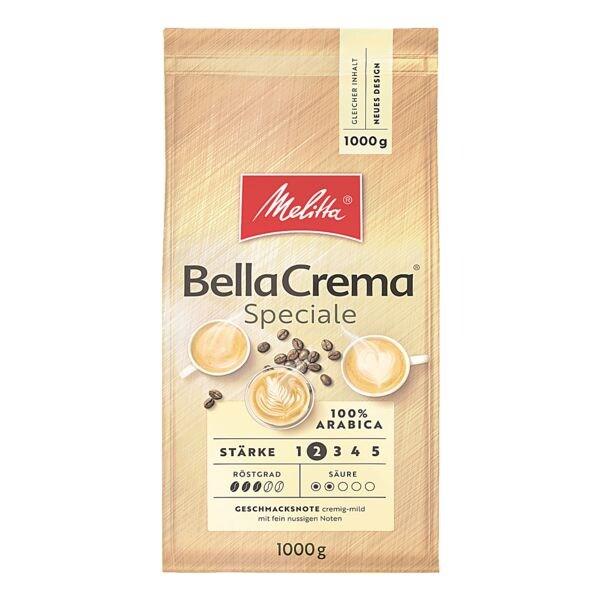 Melitta Kaffee - ganze Bohnen »Bella Crema Speciale« 1000 g