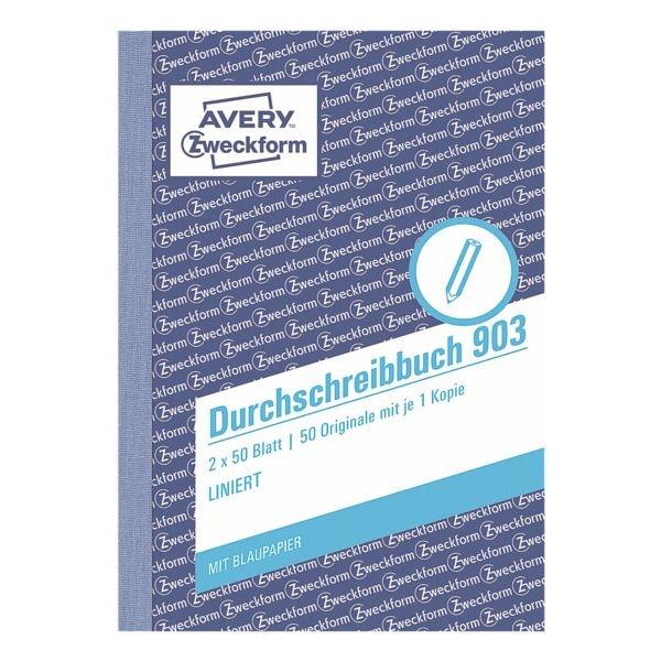 Avery Zweckform Formularbuch 903 »Durchschreibebuch«