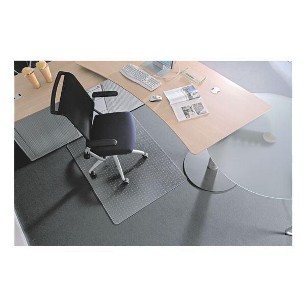 bodenschutzmatte f r teppichb den makrolon rechteck 120 x 150 cm rs office products ecogrip. Black Bedroom Furniture Sets. Home Design Ideas