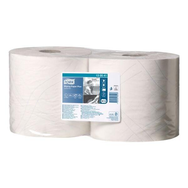 Tork Industrie-Wischtücher weiß 2-lagig 24x34 cm (2x750 Blatt)