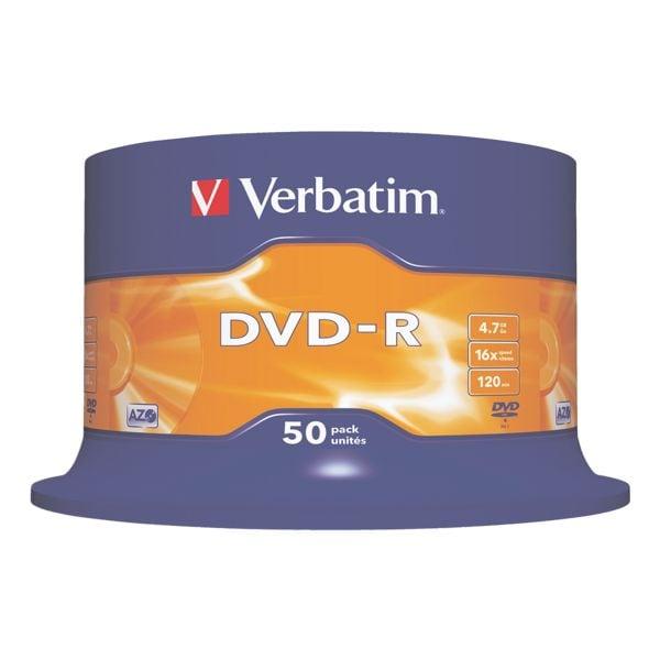Verbatim DVD-Rohlinge »DVD-R« 43548