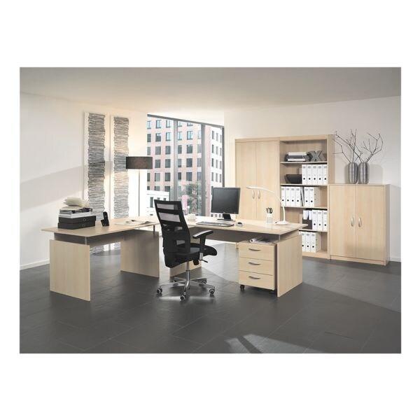 Wellemöbel Möbel-Set »Adria« 7-teilig, Schreibtisch mit Wangenfuß ...