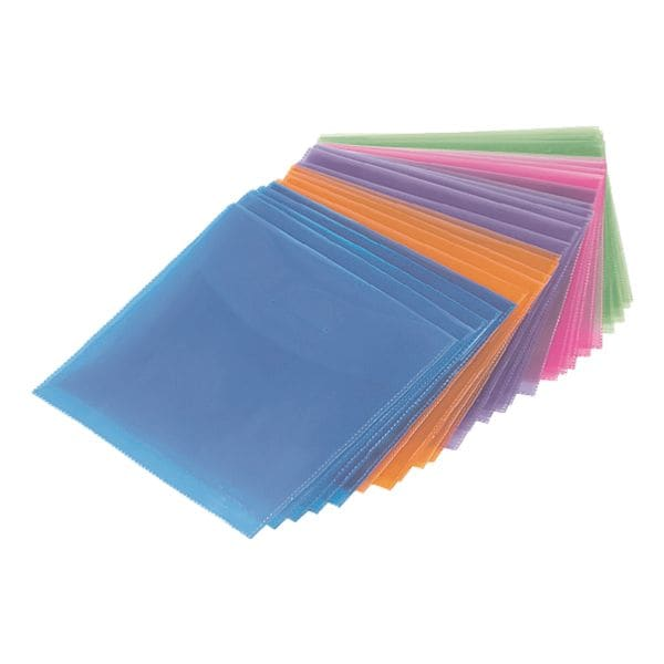 Hama CD/DVD/Blu-ray-Schutzhüllen - 50 Stück (farbig)