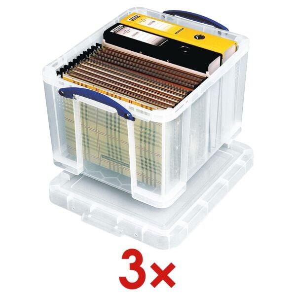 Really Useful Box 3x Ablagebox 35 L