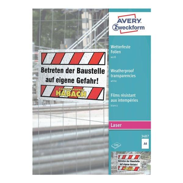Avery Zweckform Wetterfeste Folien »3487«