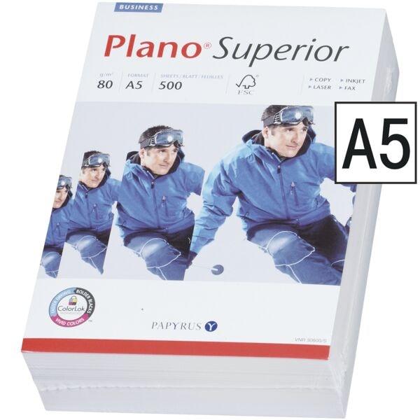 Multifunktionales Druckerpapier A5 Plano Superior - 500 Blatt gesamt