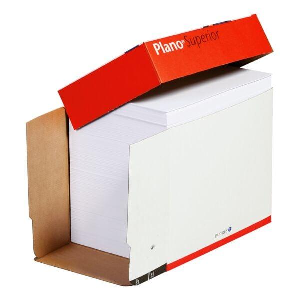 Multifunktionales Druckerpapier A4 Plano Superior - 2500 Blatt gesamt