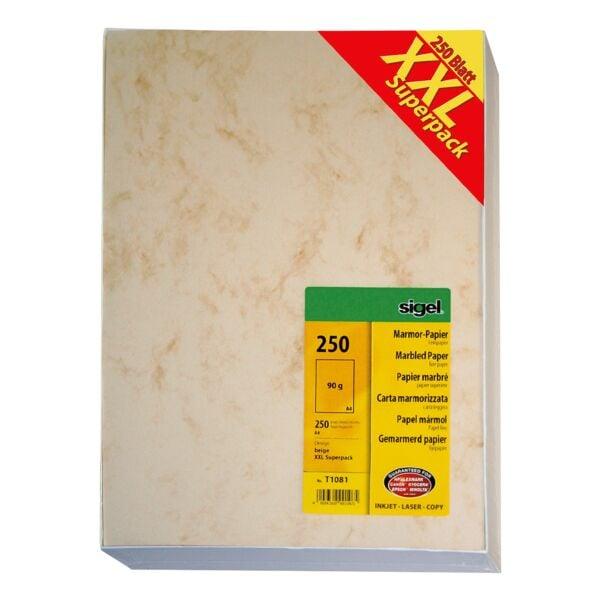 Sigel Großpack Marmorpapier