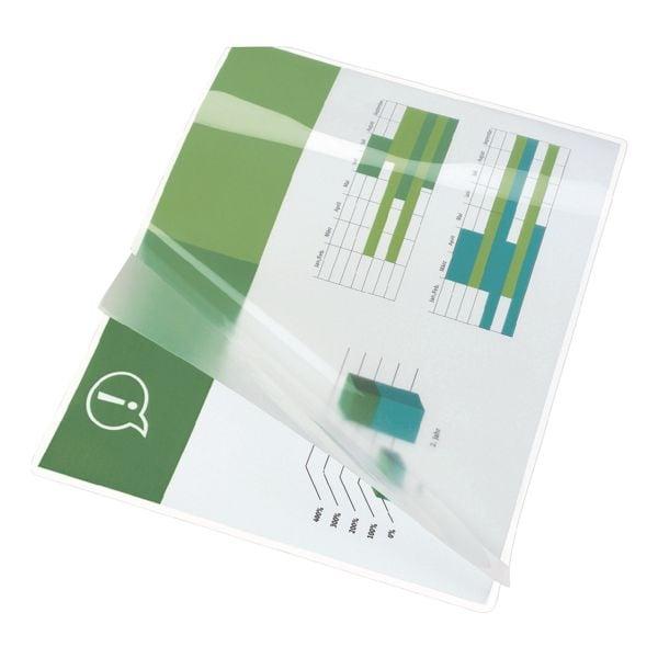 GBC 100 Stück Laminierfolien Document™ Pouch A4 125 mic