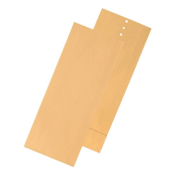 Mailmedia 100 Musterbeutel 345 x 50 x 140 mm braun ohne Fenster