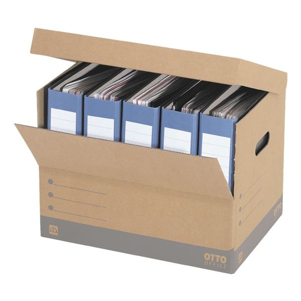 OTTO Office Budget Ordner-Container - 10 Stück