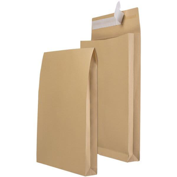 mailmedia 100 faltentaschen mit steh klotzboden b4 130 g m ohne fenster bei otto office. Black Bedroom Furniture Sets. Home Design Ideas