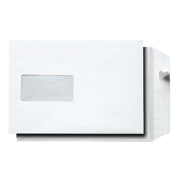 500 Versandtaschen, C5 90 g/m² mit Fenster