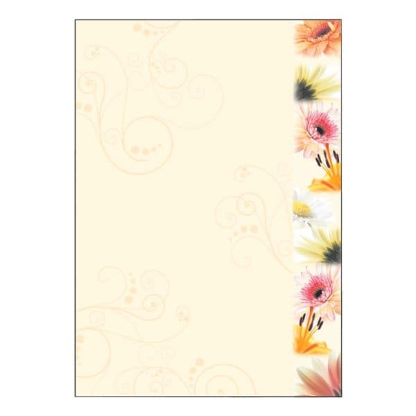 Sigel Motivpapier »Flowerstyle« DP788