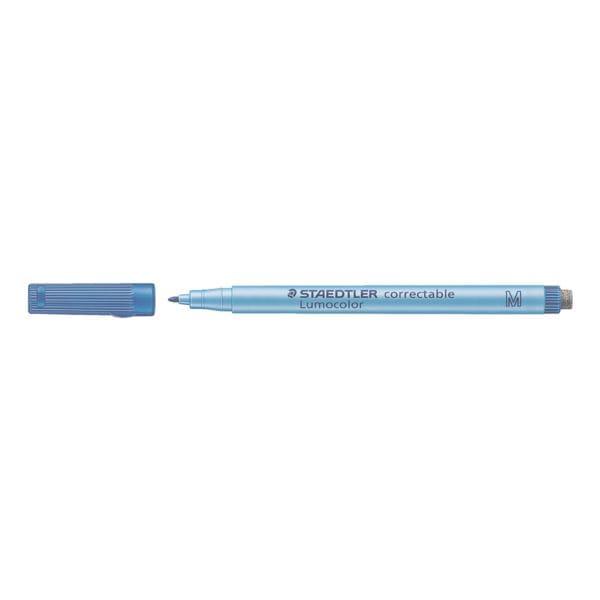 STAEDTLER Universalstift Lumocolor correctable - Rundspitze, Strichstärke 1,0 mm (M)