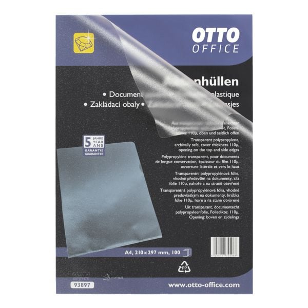 OTTO Office Premium 100er-Pack Sichthüllen »Premium« - genarbt