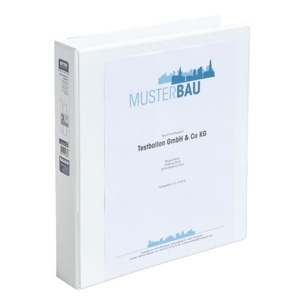 OTTO Office Präsentationsringbuch 2 Ringe, A4, Rückenbreite 50 mm