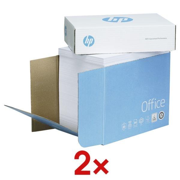 Öko-Box Kopierpapier A4 HP Office - 5000 Blatt gesamt, 80g/qm