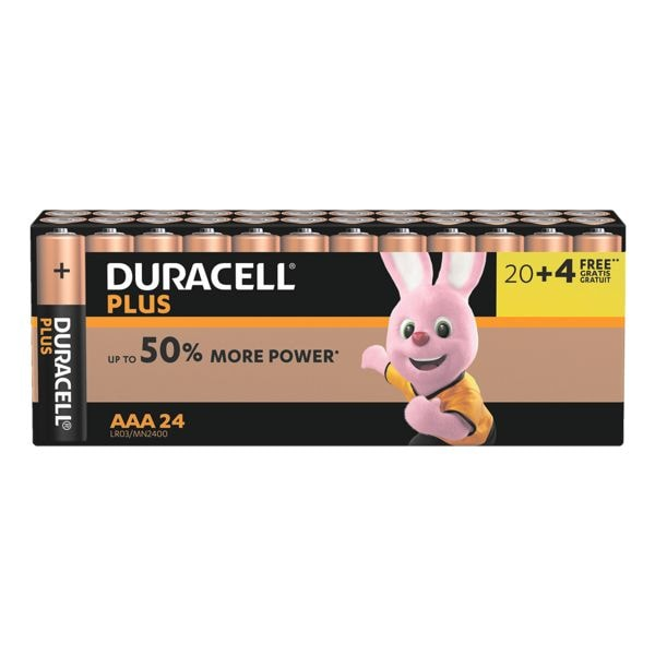 duracell 24er pack batterien plus power micro aaa lr03 bei otto office g nstig kaufen. Black Bedroom Furniture Sets. Home Design Ideas