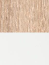 Wildeichefarben/weiß