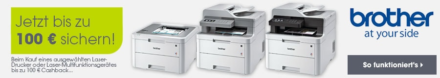 Brother Laserdrucker Cashback