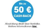Bis zu 50 Euro Cashback sichern