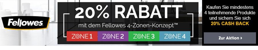 Fellowes 4-Zonen-Konzept