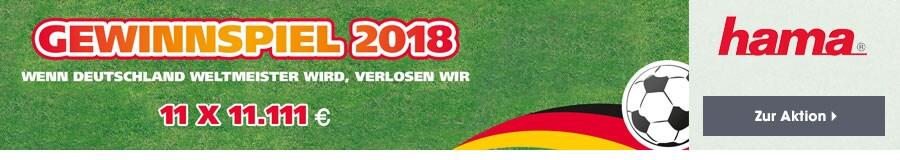 Hama Fussball Gewinnspiel 2018