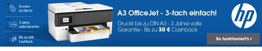 HP A3 OfficeJet Cashback