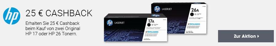 HP Toner Cashback HP 17+26