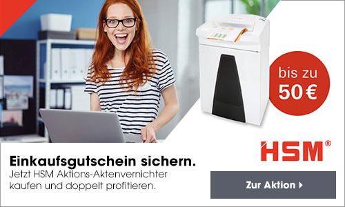 HSM Gutschein Promotion 2021