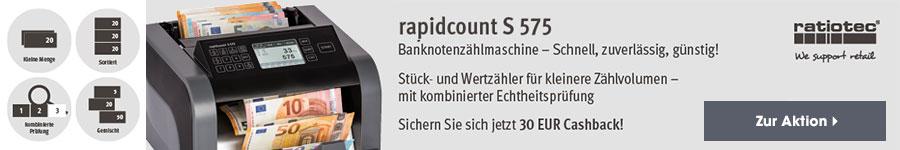 Cashback ratiotec rapidcount S275