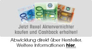 Rexel Shredder Cash Back