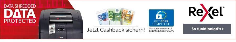 Rexel DSGVO Cashback Promotion