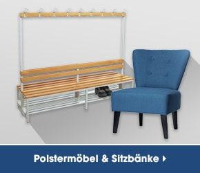 Polstermöbel und Sitzbänke