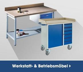 Werkstatt- und Betriebsmöbel