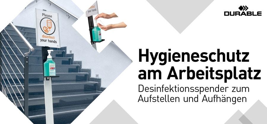 Hygieneschutz am Arbeitsplatz