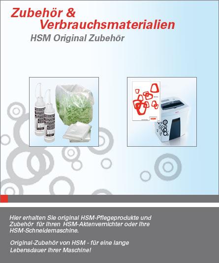 Zubehör und Verbrauchsmaterial