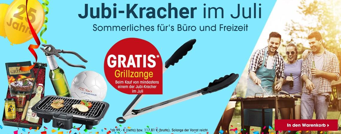 Jubi-Kracher im Mai