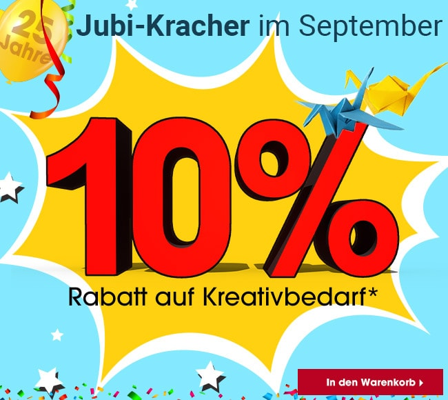 Jubi-Kracher im September