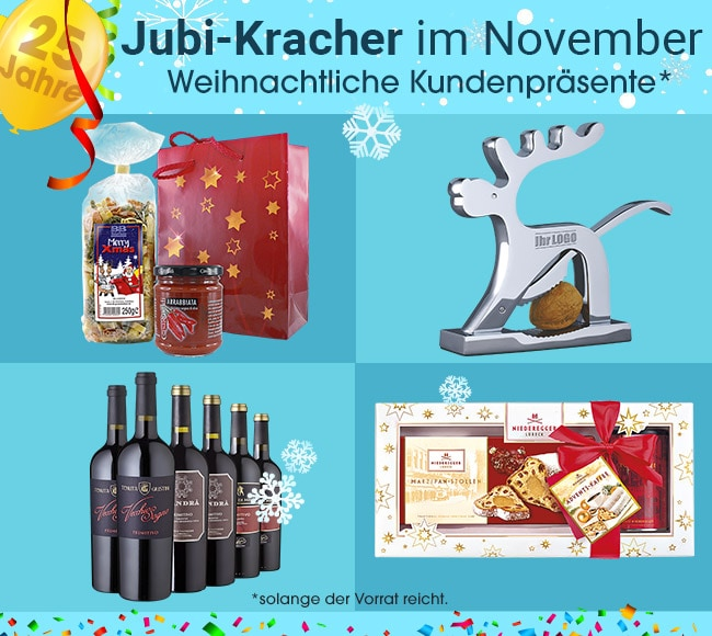 Jubi-Kracher im November