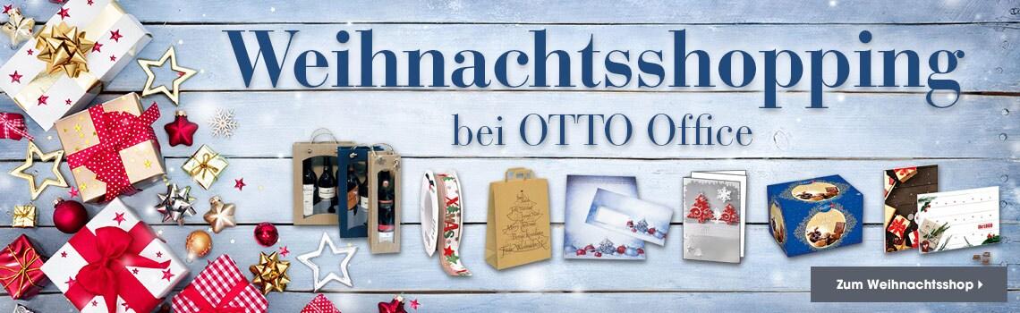 Weihnachtsshopping bei OTTO Office