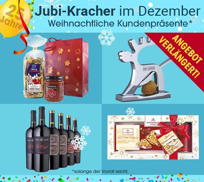 Jubi-Kracher im Dezember