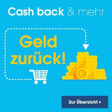 Cashback und mehr