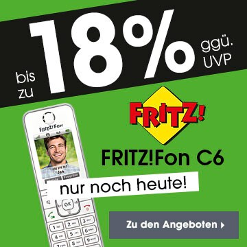 bis zu 18% Fritz!Fon C6